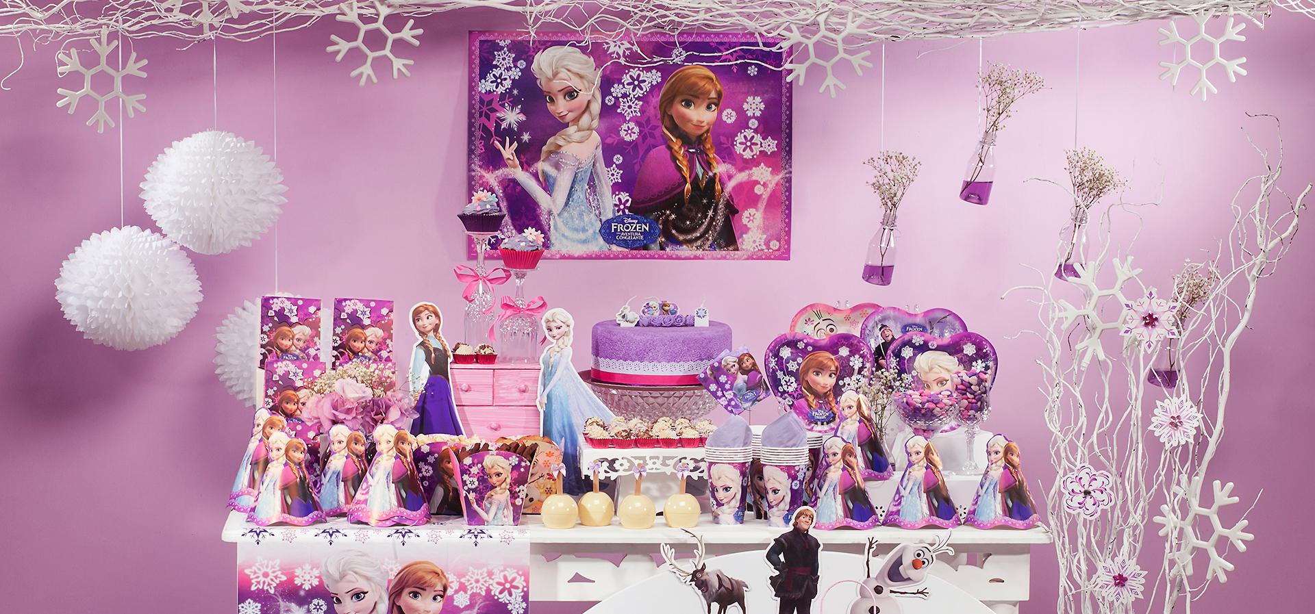 decoracao festa simples:Ideias de decoração Frozen!