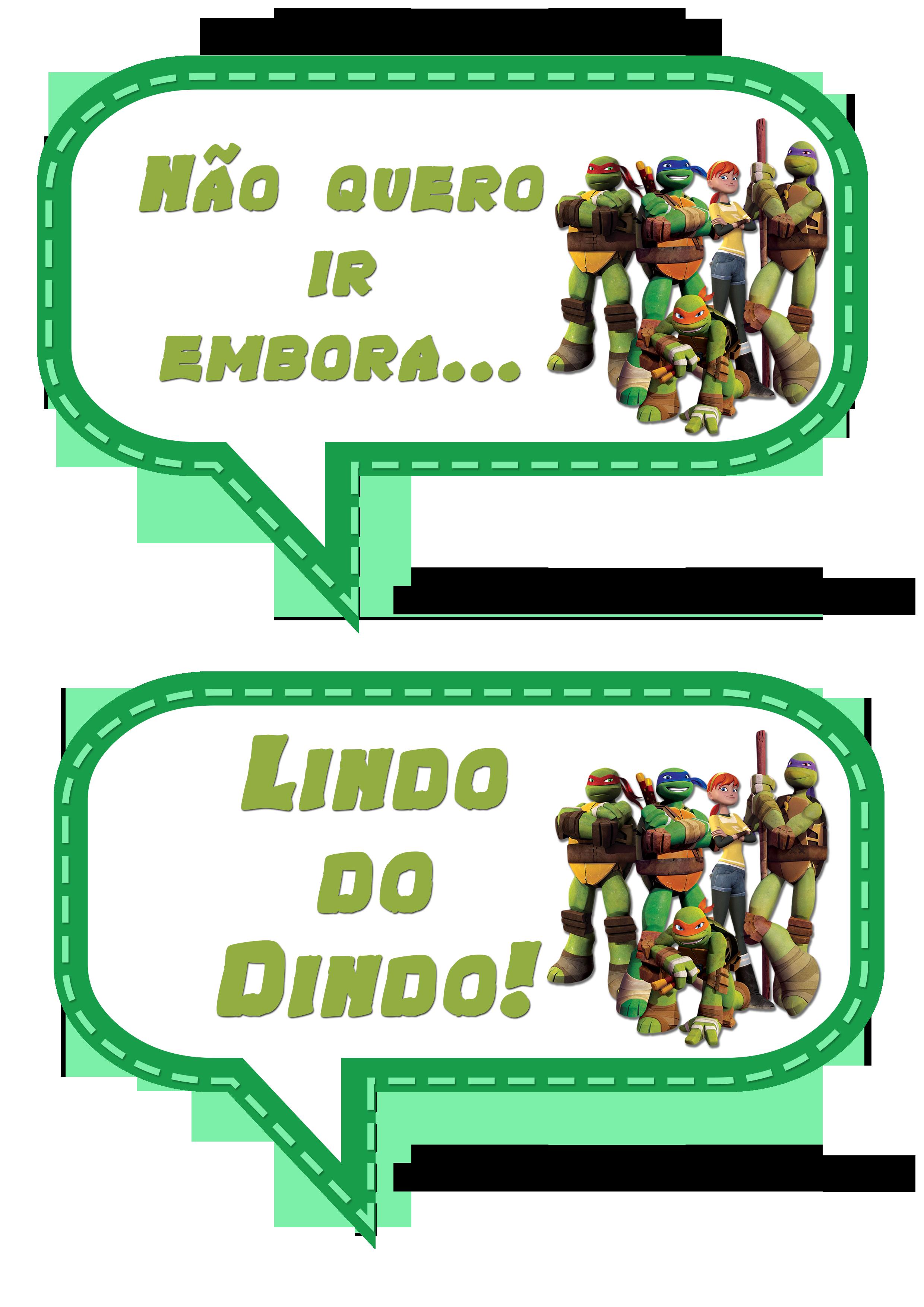Muito Plaquinhas Divertidas das Tartarugas Ninjas! MR98