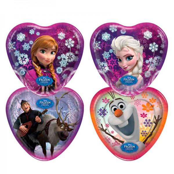 Pratos descartáveis Frozen: