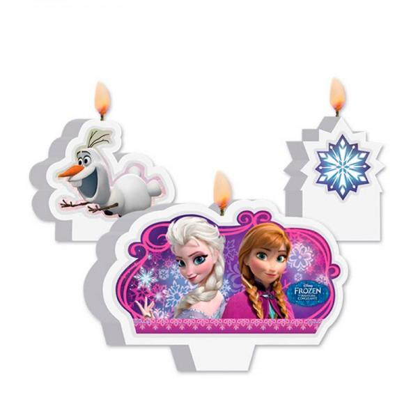 Vela Aniversário Frozen: