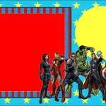 Os Vingadores – Kit Completo com molduras para convites, rótulos para guloseimas, lembrancinhas e imagens!