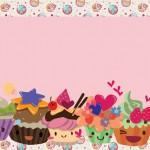 Cupcakes Fofinhos – Kit Completo com molduras para convites, rótulos para guloseimas, lembrancinhas e imagens!