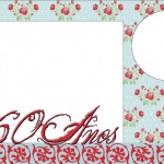 60 Anos – Kit Completo com molduras para convites, rótulos para guloseimas, lembrancinhas e imagens!