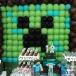 Tema: Minecraft – Festa da Leitora Eleni Martins!!
