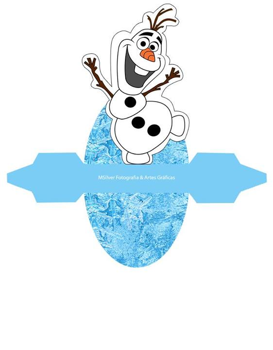 Caixa Vestido Olaf: