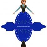 Caixa Vestido Frozen!