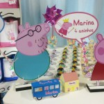 Tema: Peppa Pig Princesa- Festa da Leitora Luciana Paulino!