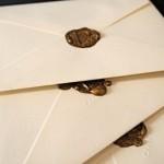 Envelopes Lacrados com Cera!