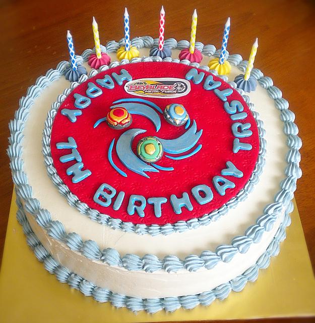 Goldilocks Birthday Cakes Designs For Boy : Festinha Beyblade!