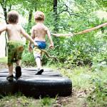 Festinha de Obstáculos para Meninos!