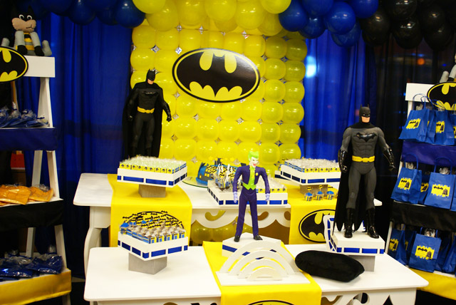 decoracao festa batman : decoracao festa batman:Tema: Batman – Festa da Leitora Juliana Corsino!