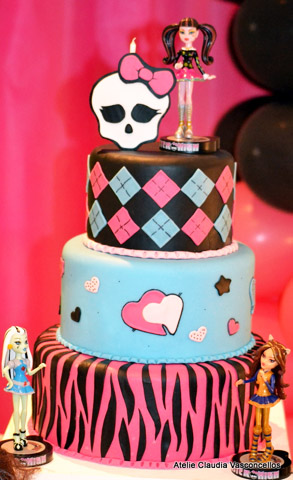 Bolo Monster High: