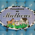 Tema: Fazendinha – Festa da Leitora Alessandra Passos!
