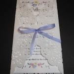 Convite para Primeira Comunhão ou Batizado com Envelope de Doily!