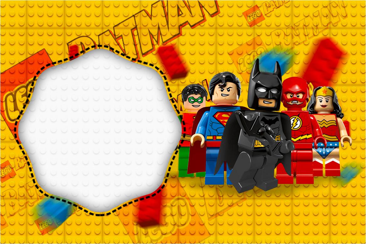 Kit Completo Digital Batman Lego Super Heroes!