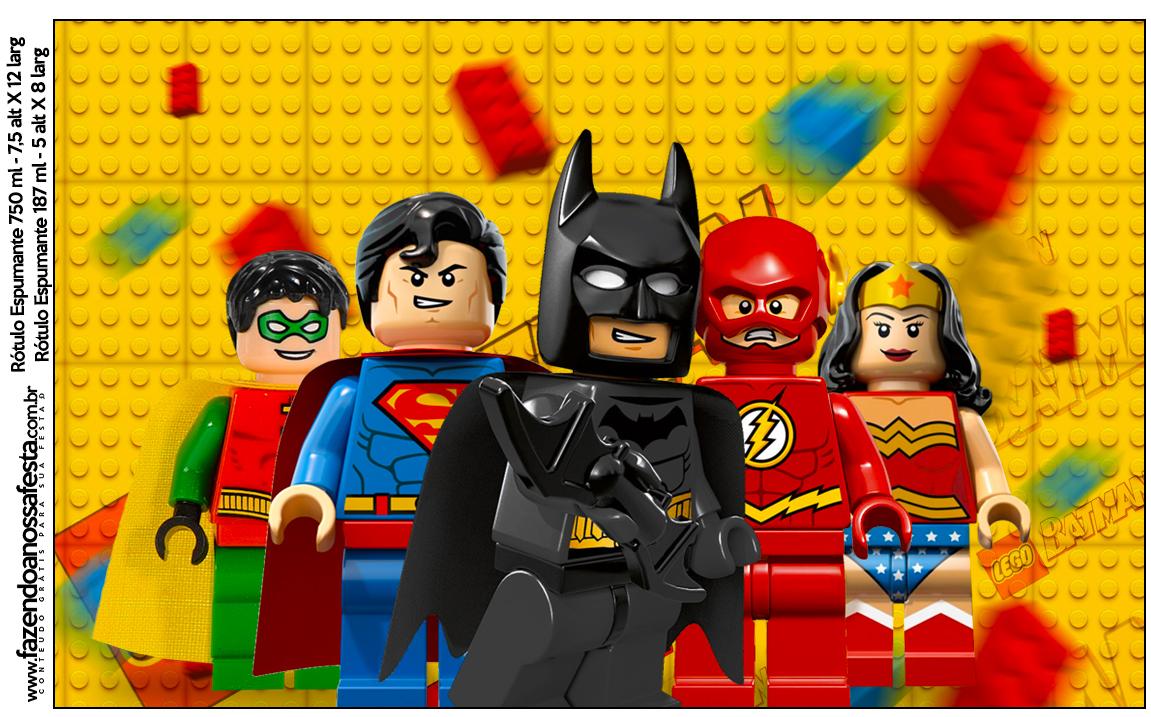 Lego Batman Superhero 136 Fazendo A Nossa Festa
