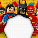 Batman Lego Super Herois – Kit Completo Digital com molduras para convites, rótulos para guloseimas, lembrancinhas e imagens!