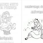 Alice no País das Maravilhas – Livrinho para Colorir!