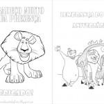 Madagascar – Livrinho para Colorir!!