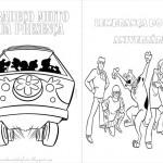 Scooby Doo – Livrinho para Colorir!