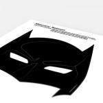 Máscara Batman!