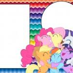 My Little Pony Cores Fortes – Kit Completo com molduras para convites, rótulos para guloseimas, lembrancinhas e imagens!