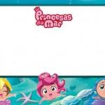 Princesas do Mar – Kit Completo com molduras para convites, rótulos para guloseimas, lembrancinhas e imagens!