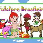 Folclore Brasileiro, Bumba, Curupira, Boto, Boitatá, Saci Pererê, Iara, Mula sem Cabeça – Kit Completo com molduras para convites, rótulos para guloseimas, lembrancinhas e imagens!