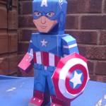 Capitão América – Boneco 3D para Imprimir e Montar!