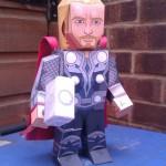 Thor – Bonecos 3D para Recortar e Montar!