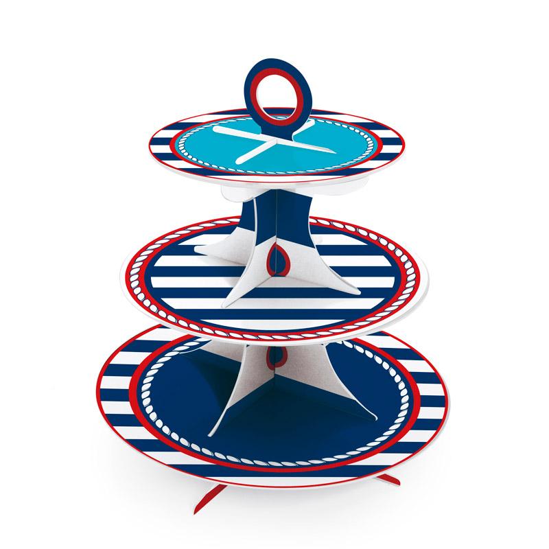 Torre de Cupcakes  Marinheiro: