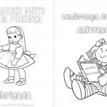 Bonecas – Livrinho para Colorir!