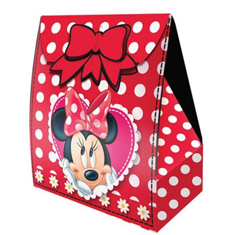 Caixa Surpresa Minnie Vermelha Festabox