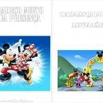 Mickey e Minnie – Livrinho de Atividades!