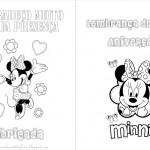 Minnie – Livrinho para Colorir!