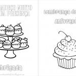 Cupcakes – Livrinho para Colorir!