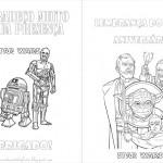 Star Wars – Livrinho para Colorir!