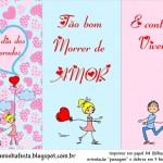 Cartões para o Dia dos Namorados!!!