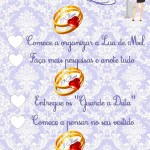 Check List – 11 a 9 Meses Antes do Casamento!
