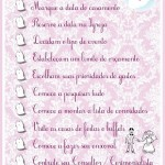 Check List – 14 a 12 Meses Antes do Casamento!