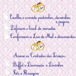 Check List 7 a 6 Meses Antes do Casamento!
