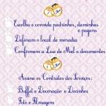 Check List 7 a 6 Meses Antes do Casamento!