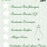 Check List 8 Meses Antes do Casamento!