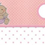 Chá de Bebê – Kit Completo com molduras para convites, rótulos para guloseimas, lembrancinhas e imagens!