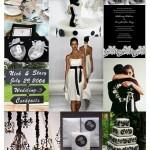 Decoração de Casamento em Preto e Branco!