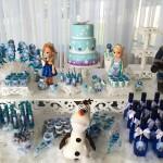 Tema: Frozen – Festa das Leitoras Maiane e Melissa!