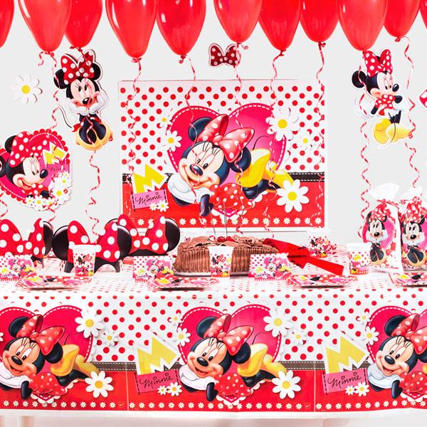 Mesa Minnie Vermelha Festabox