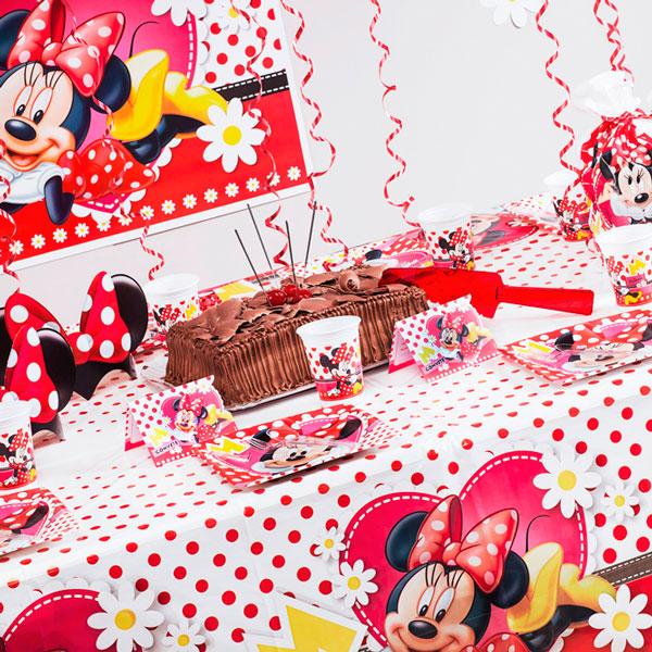 Mesa Minnie Vermelha Festabox 2