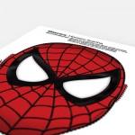 Homem Aranha – Máscara pronta para impressão.