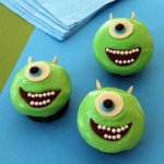 Cupcakes Mike Wazowski do Monstros S.A.!